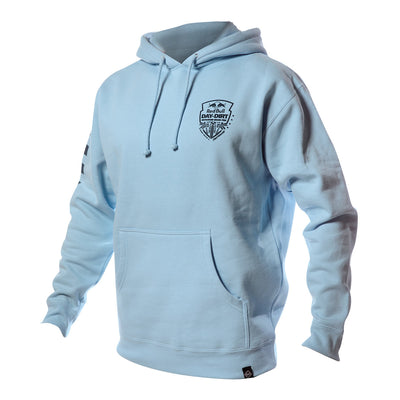 Red Bull Day in the Dirt Down South Hooded Pullover - Blue Aqua