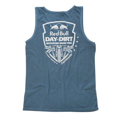 Red Bull Day in the Dirt Down South Tank - Blue Jean