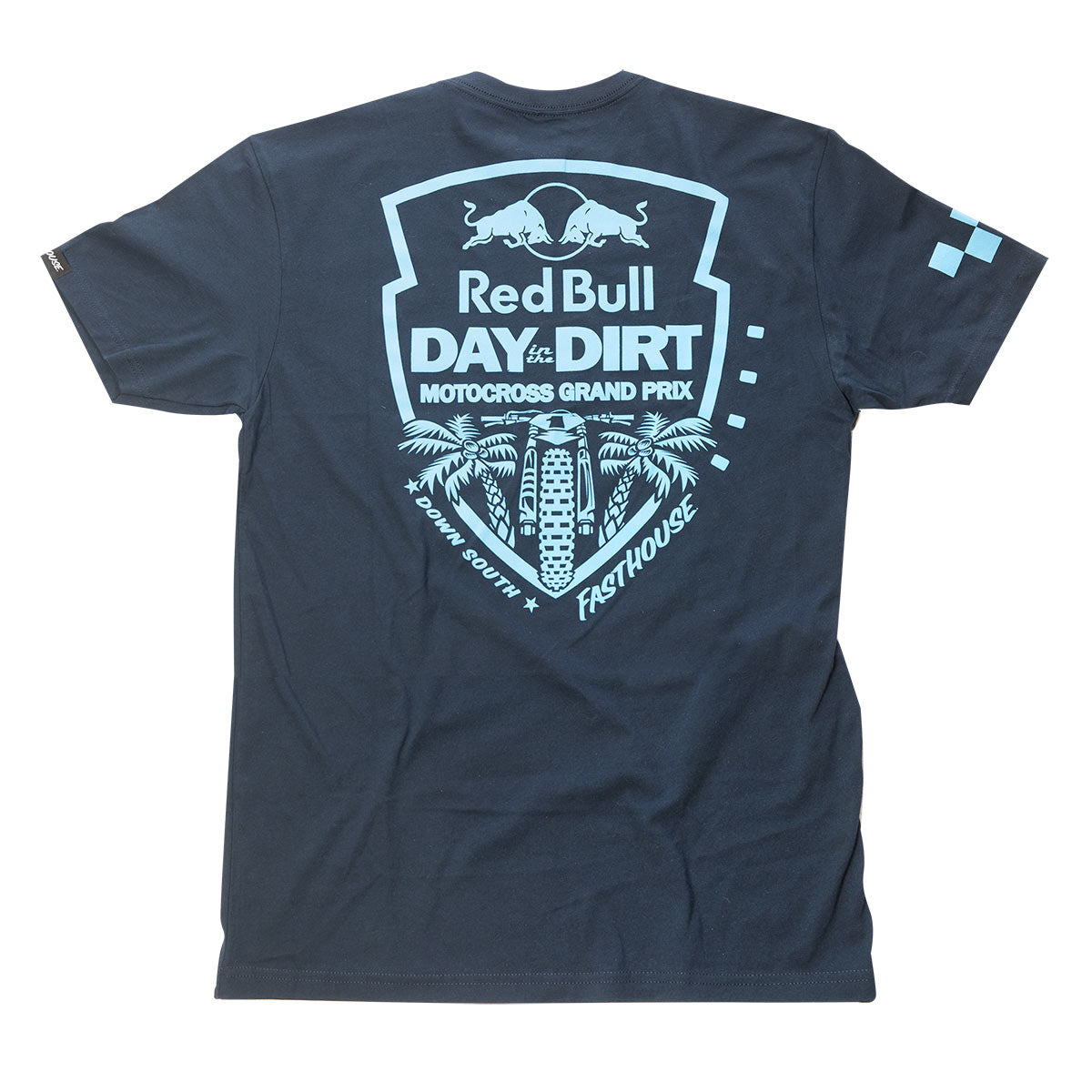 Red Bull Day in the Dirt Down South Tee - Midnight Navy