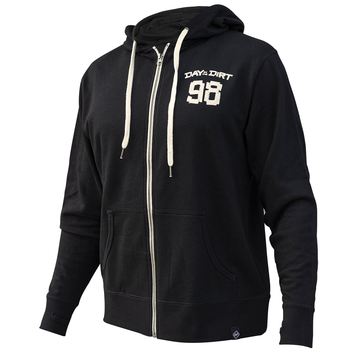 Fasthouse - Day in the Dirt 98 Zip Up Hoodie - Black