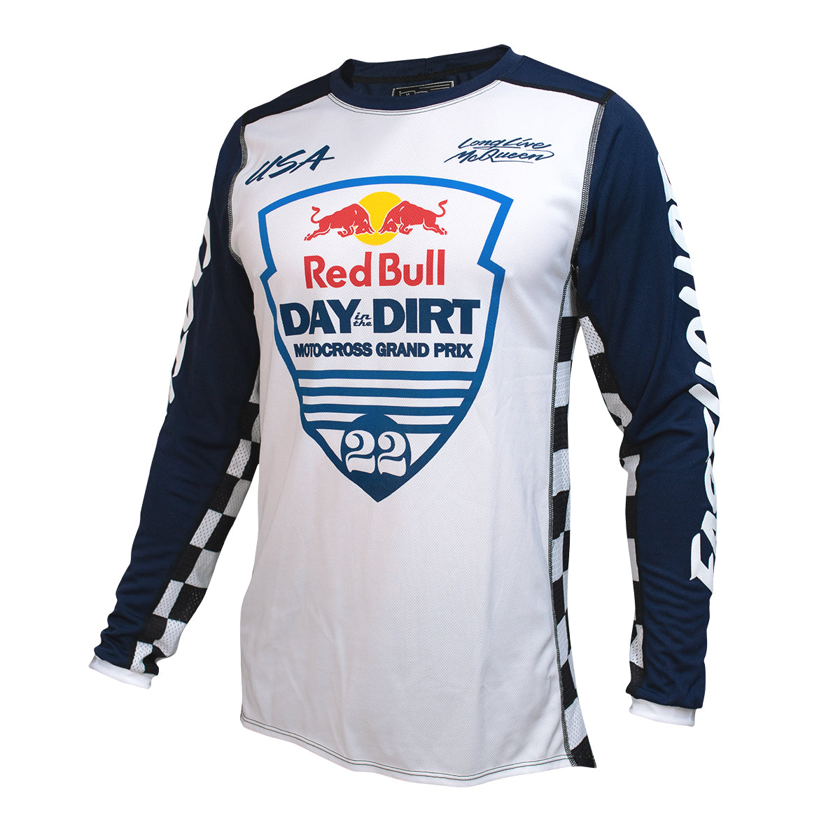 Red Bull Day in the Dirt 22 Jersey - White/Navy