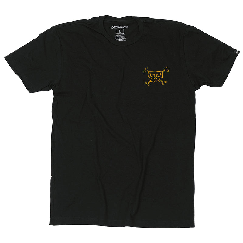 Fasthouse - Day in the Dirt No Man Tee - Black