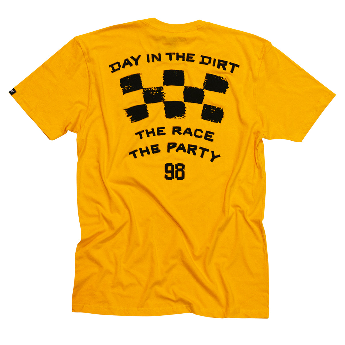 Fasthouse - Day in the Dirt OG Youth Tee - Gold