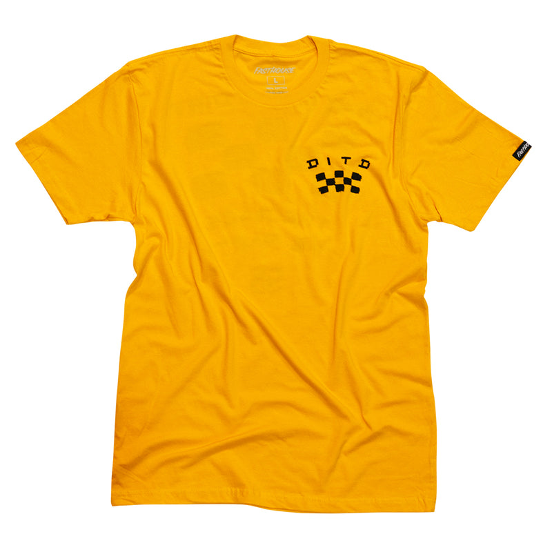 Day in the Dirt OG Tee  - Gold