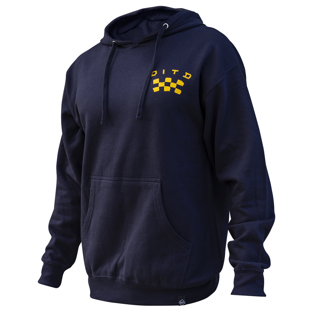 Fasthouse - Day in the Dirt OG Pullover Hoodie - Navy