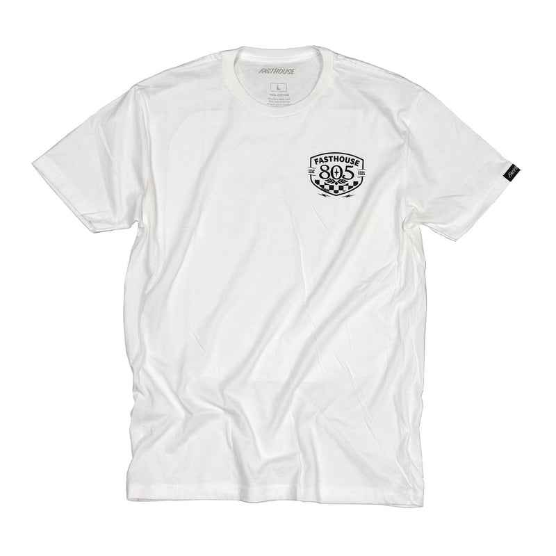 Fasthouse - 805 Pitstop Tee - White
