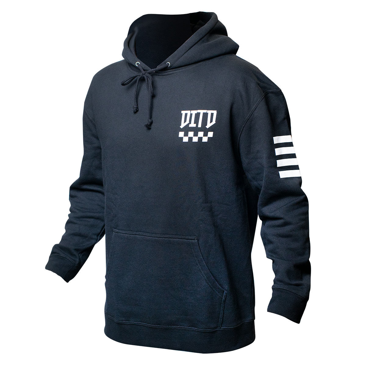 Day in the Dirt 23 Notorious Hooded Pullover - Black