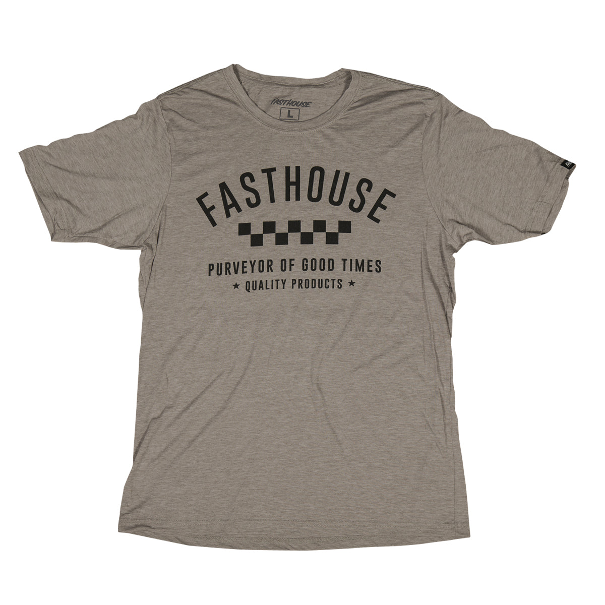 Fasthouse - Daily Ash Grey Tee - Grey