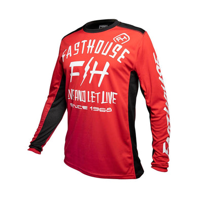 Fasthouse - Dickson Youth Jersey - Red