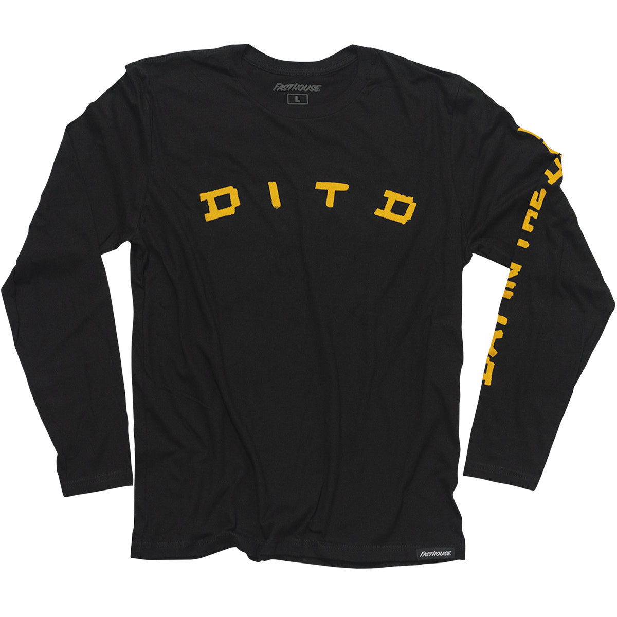 Fasthouse - Day in the Dirt Dirty Racing LS Tee - Black
