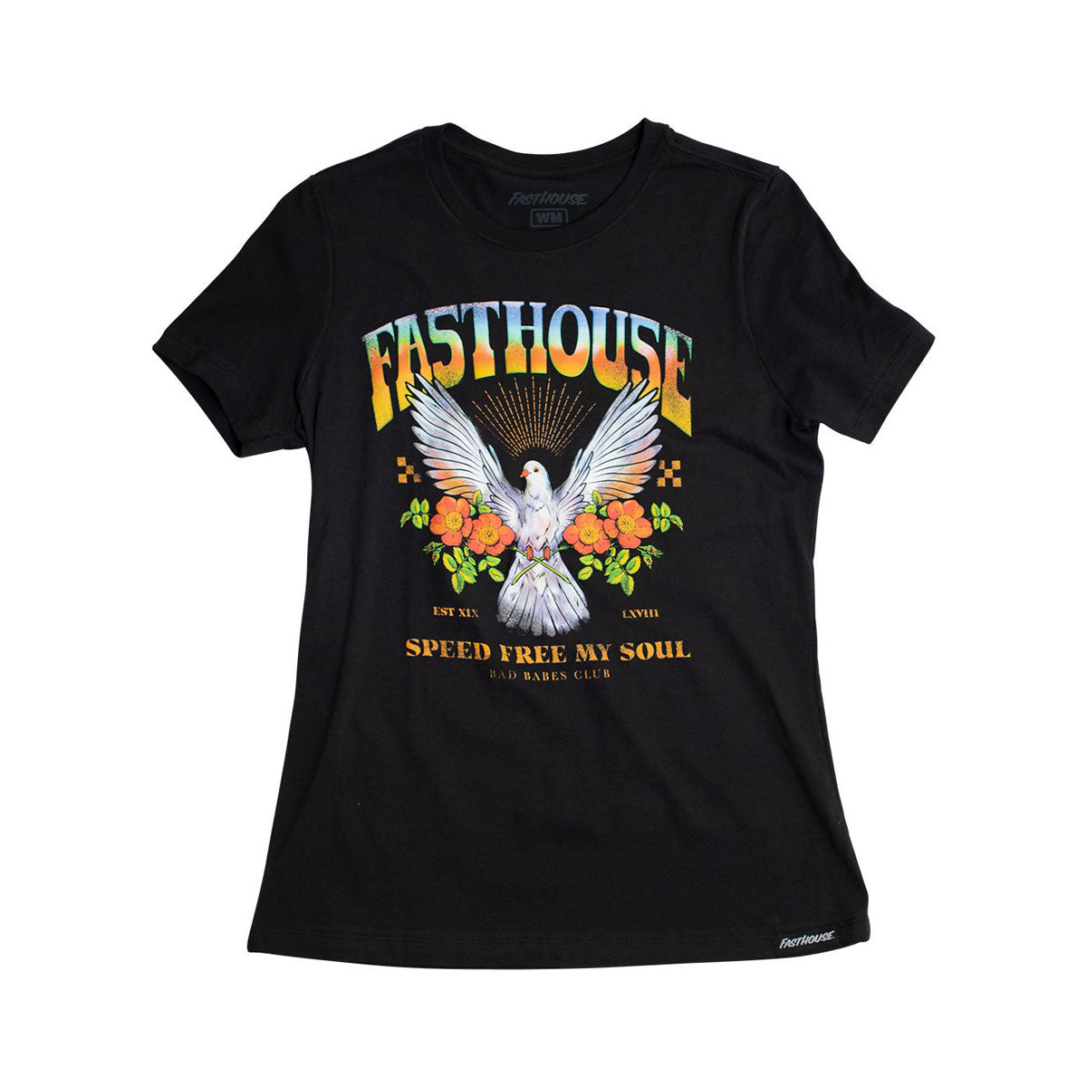 Dove Girls Tee - Black Heather