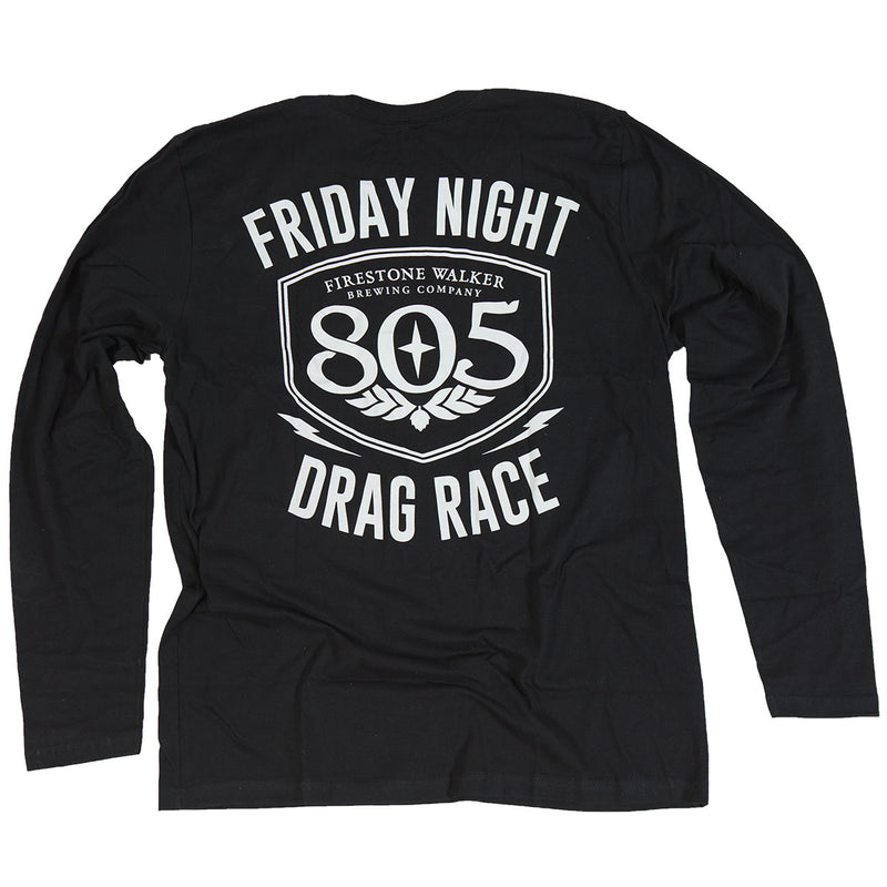 Fasthouse - 805 Drag Race LS Tee - Black
