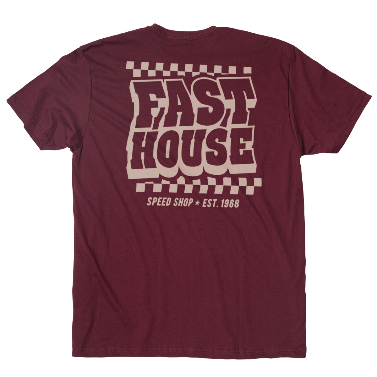 Fasthouse - Drive-In Tee - Maroon