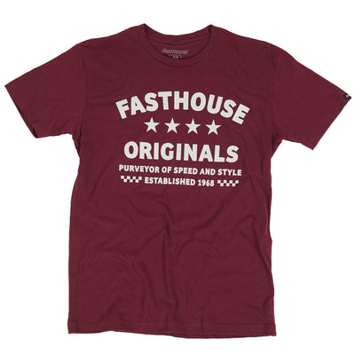 Fasthouse - Originals Tee - Maroon