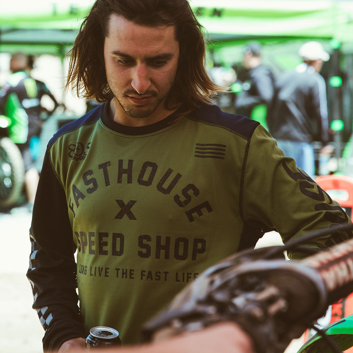 Fasthouse - Heritage Jersey - Olive