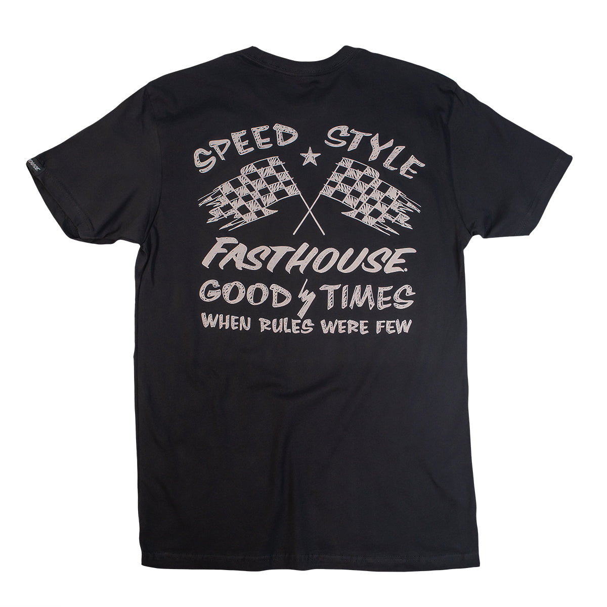 Fasthouse - Finish Line Tee - Black