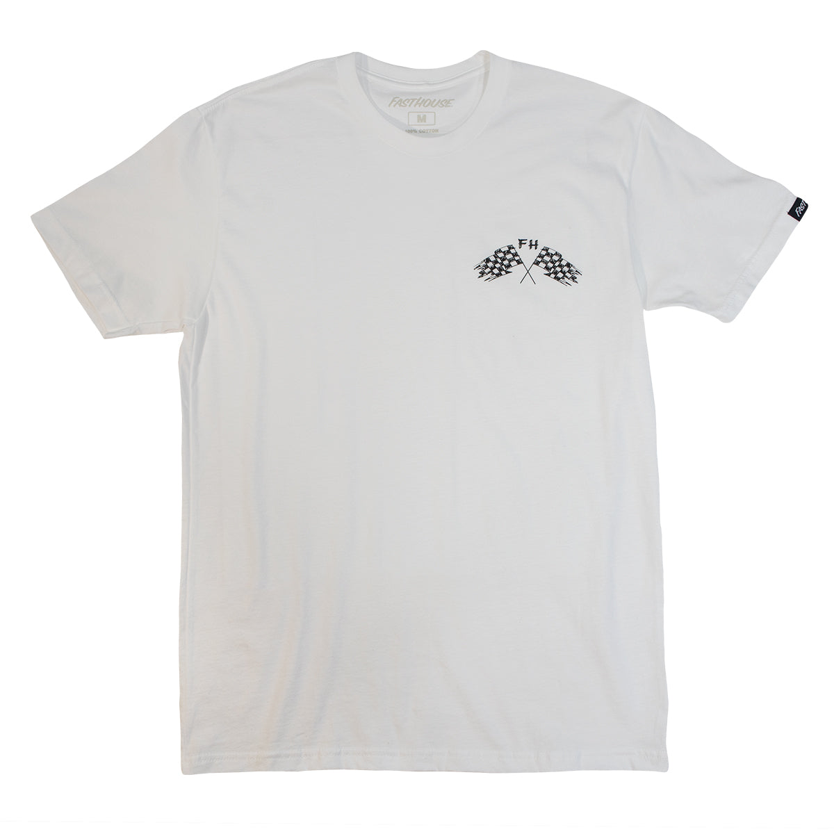 Fasthouse - Finish Line Tee - White