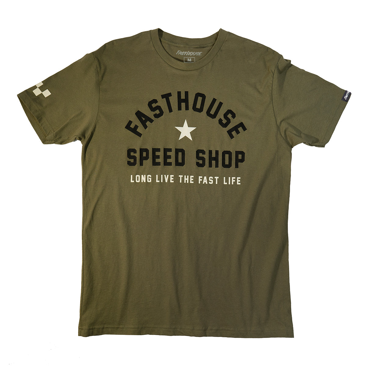 Fasthouse - Fast Life Tee - Military Green
