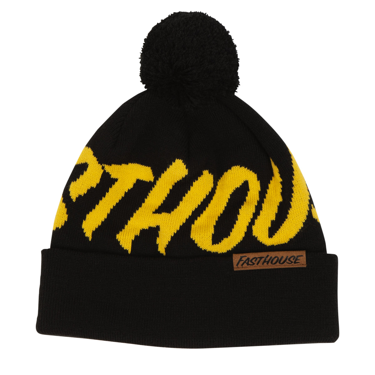 Fasthouse - Fastball Beanie - Black/Yellow