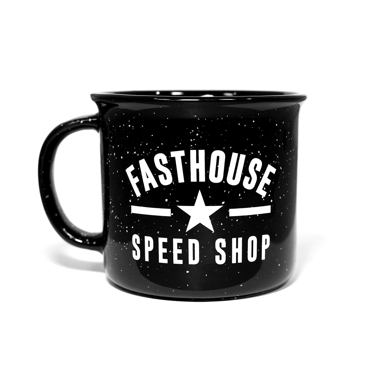 Ceramic Fasthouse Mug - Black