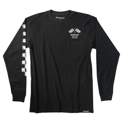 Fasthouse - Finish Line Long Sleeve Tee - Black
