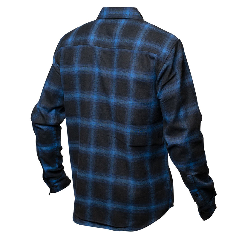 Saturday Night Special Flannel - Blue/Black