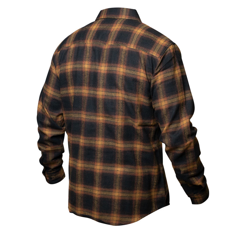 Saturday Night Special Flannel - Gold/Black