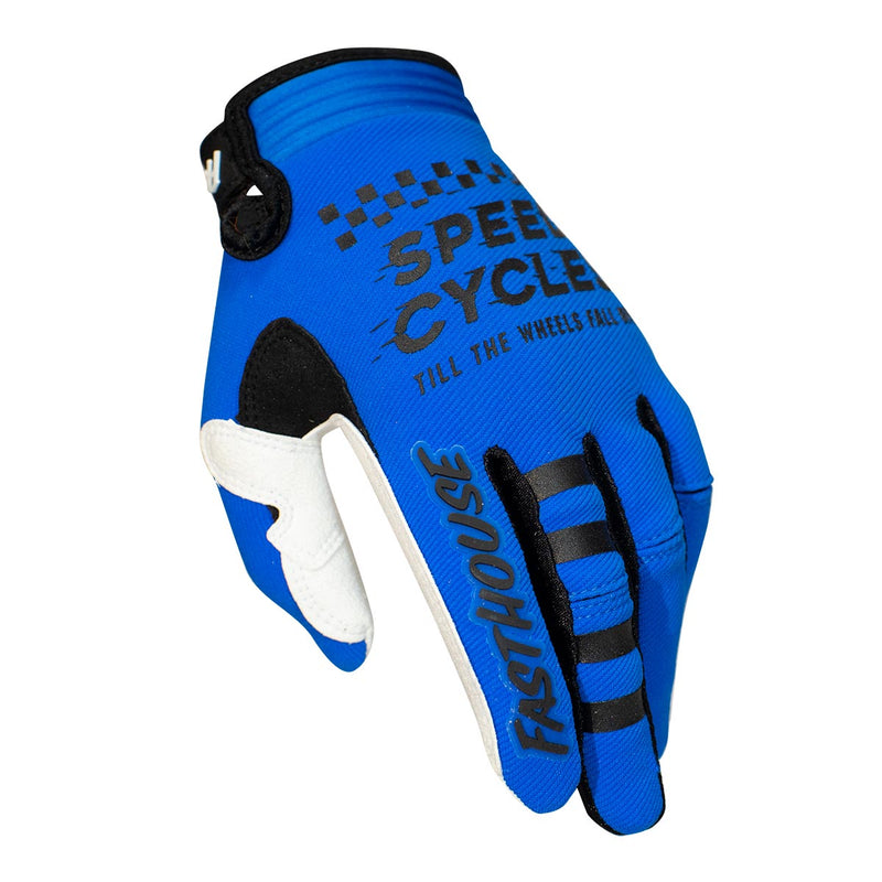 Speed Style Flight Glove - Blue