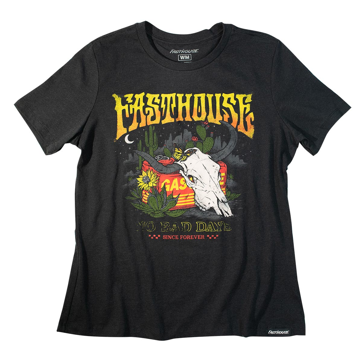 Fasthouse - Forever Womens Tee - Black Heather