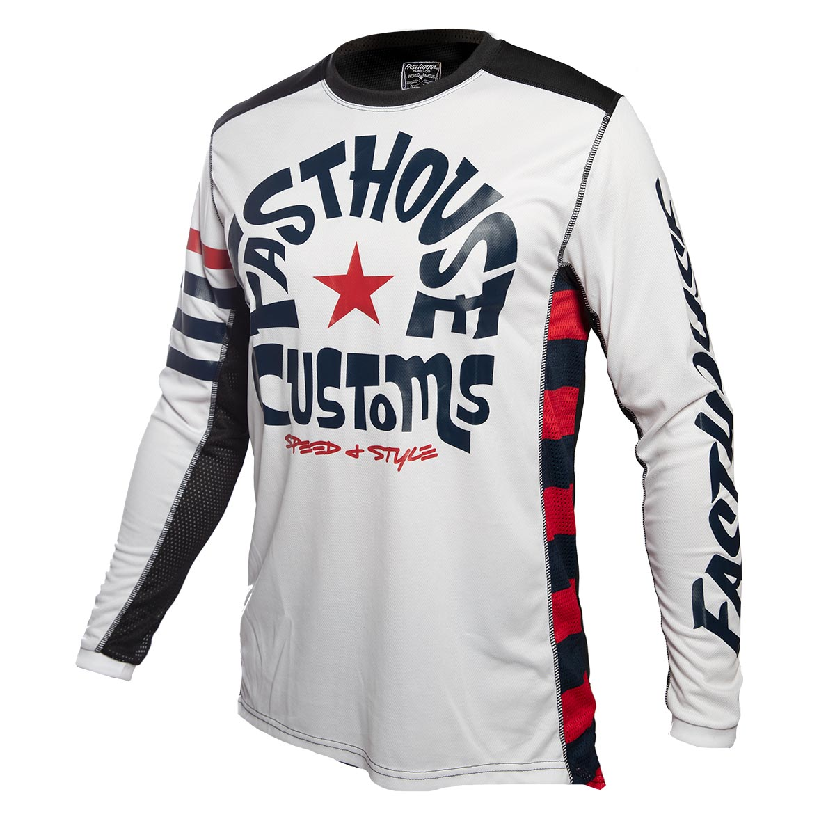 Fasthouse - Funkhouse Jersey - White
