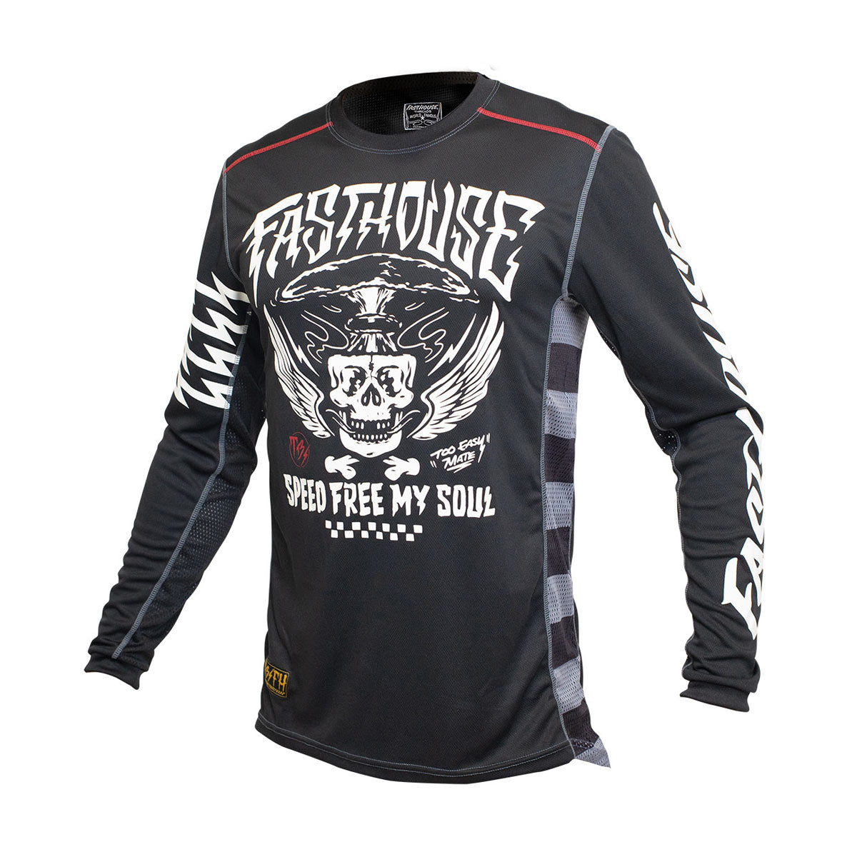 Grindhouse Bereman Youth Jersey - Black