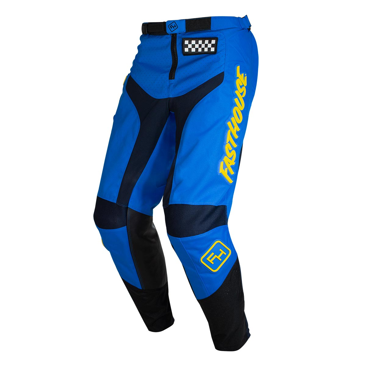 Fasthouse - Grindhouse Youth Pant - Blue/Yellow