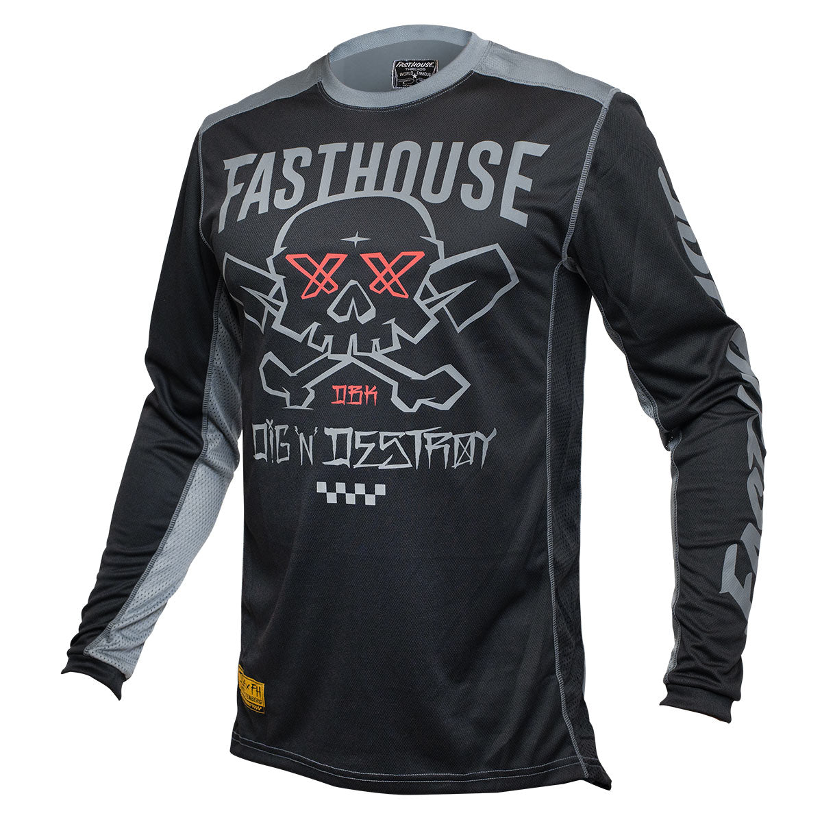 Grindhouse Twitch Jersey - Black/Charcoal