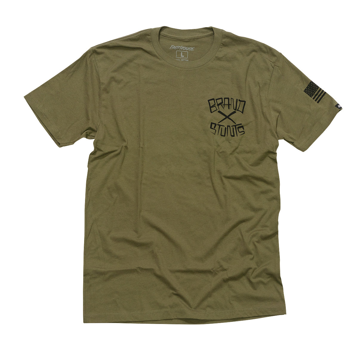 Fasthouse - Brand X Good to Go Tee - Military Green