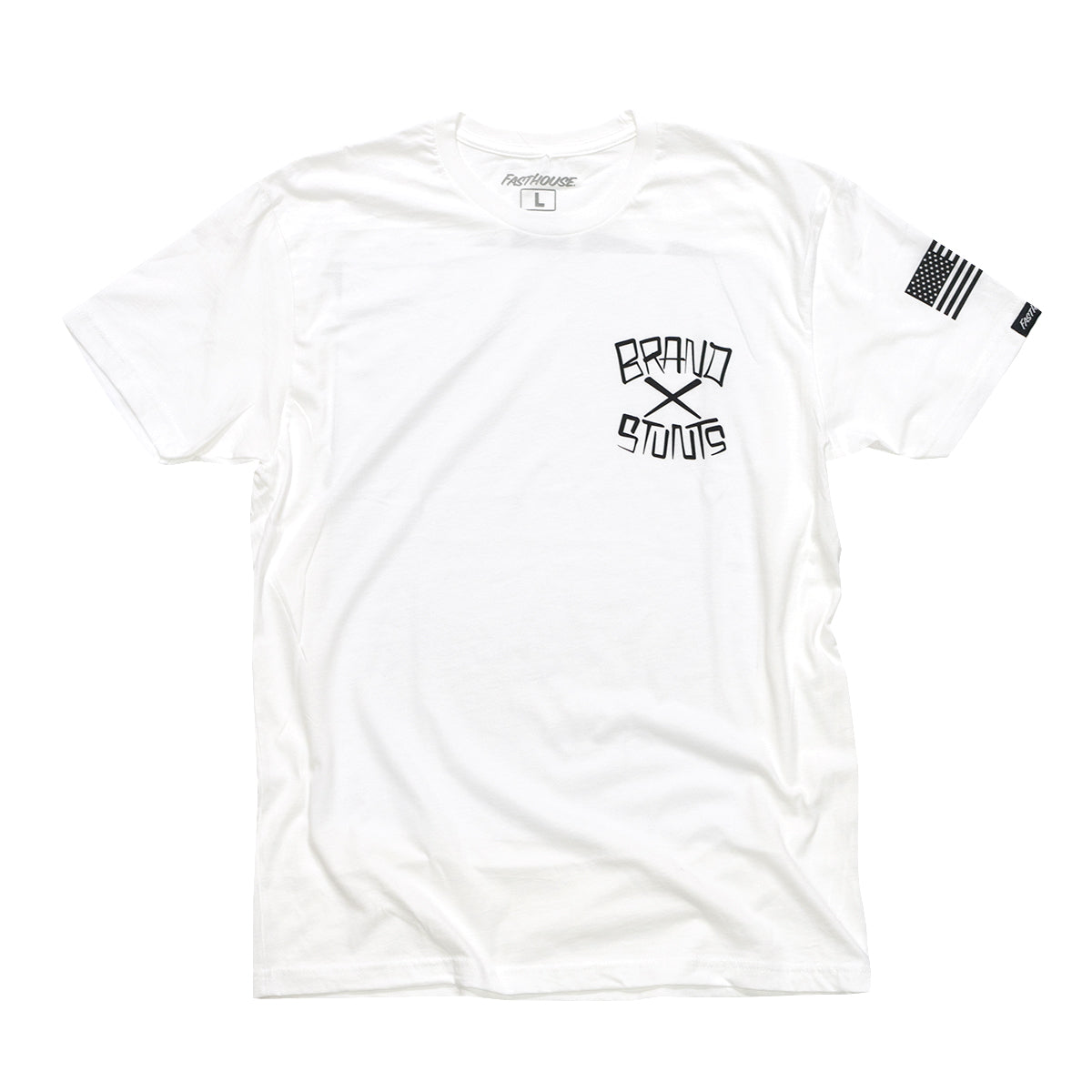 Fasthouse - Brand X Good to Go Tee- White