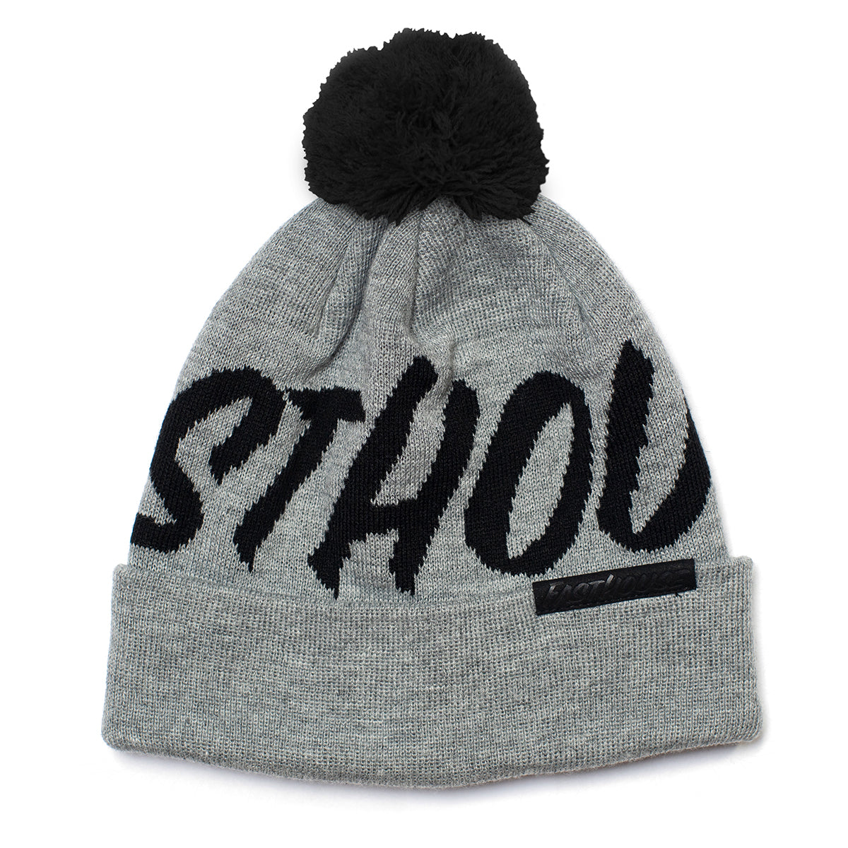 Fastball Beanie - Grey/Black