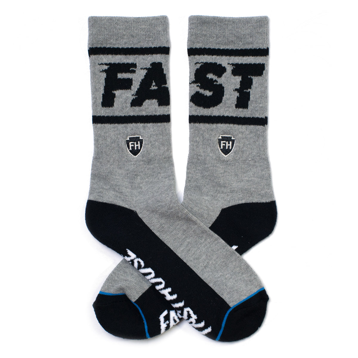 Bronson Sock - Grey/Black