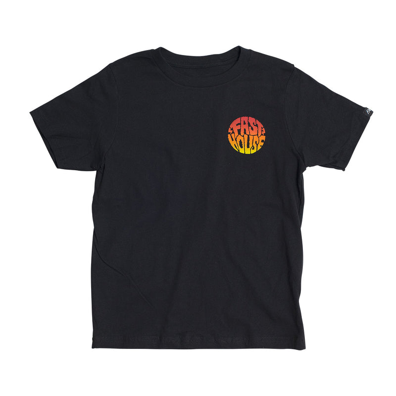 Grime Youth Tee - Black