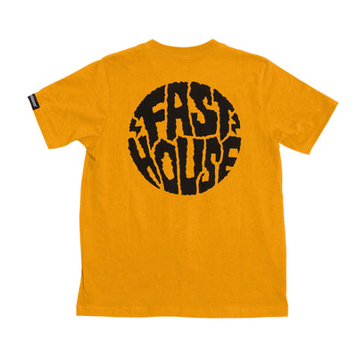Grime Youth Tee - Gold