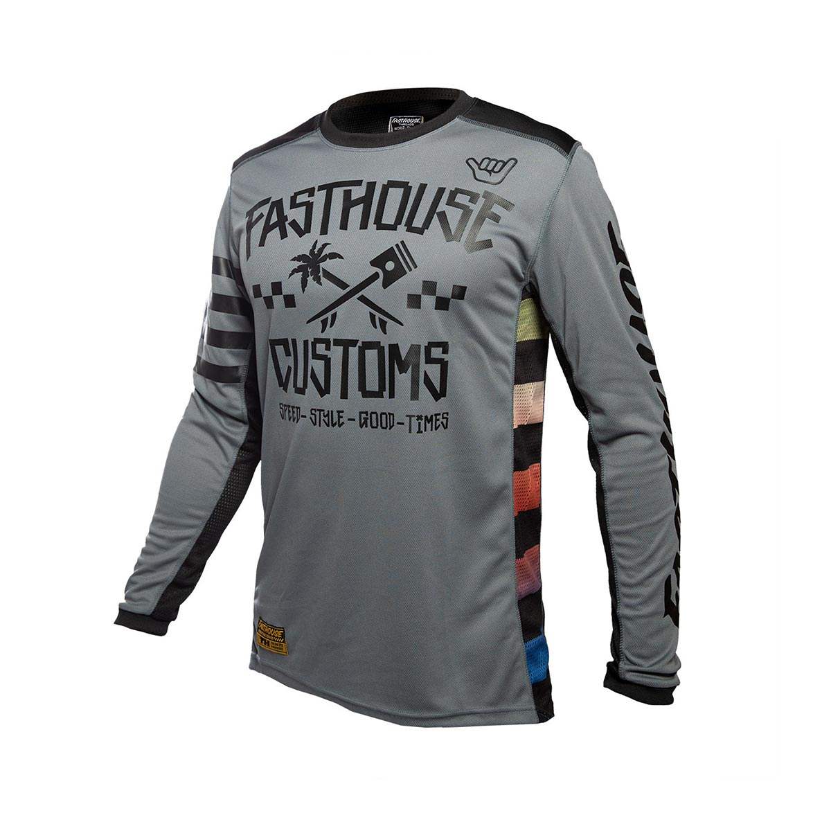 Fasthouse - Hawk Youth Jersey - Grey