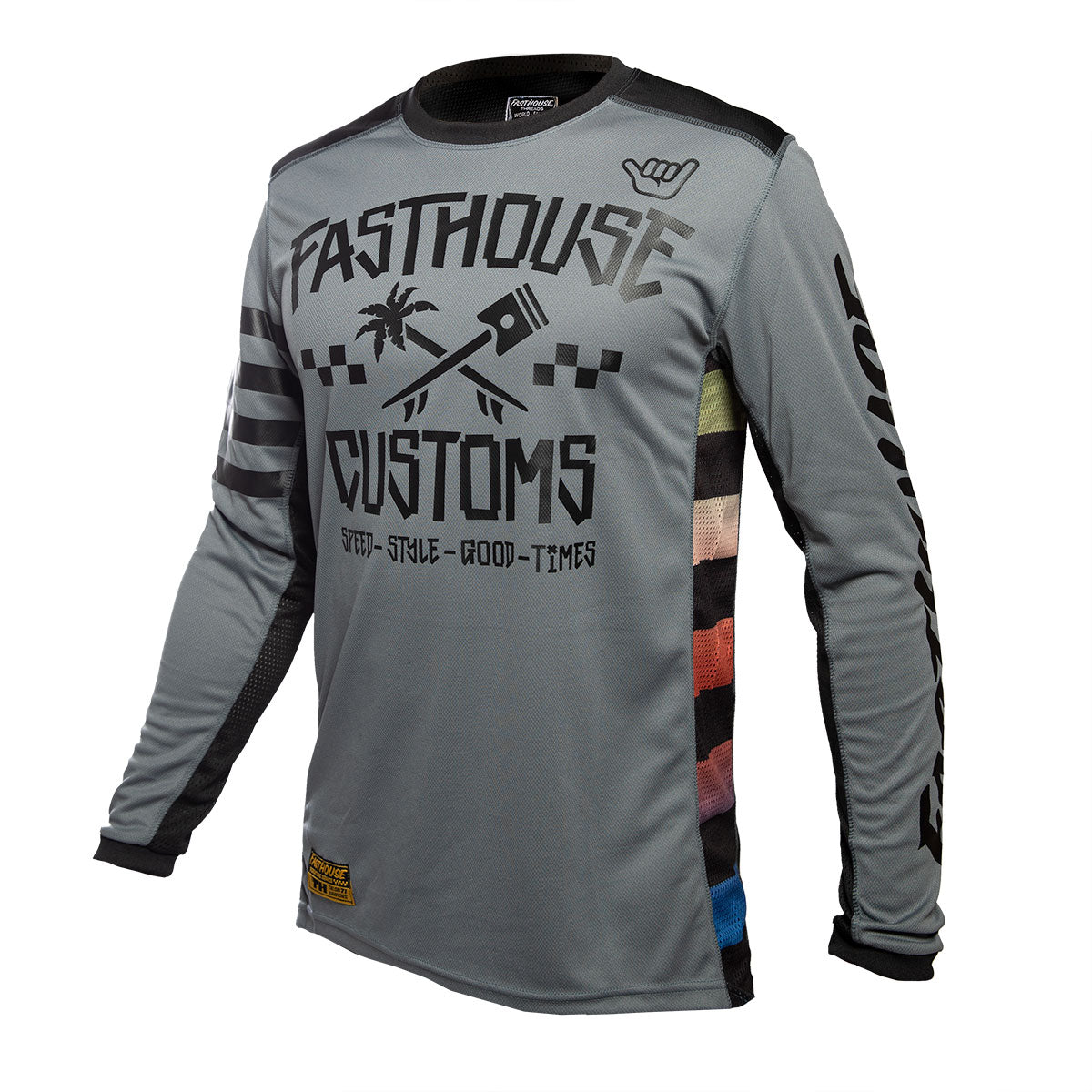 Fasthouse - Hawk Jersey - Grey