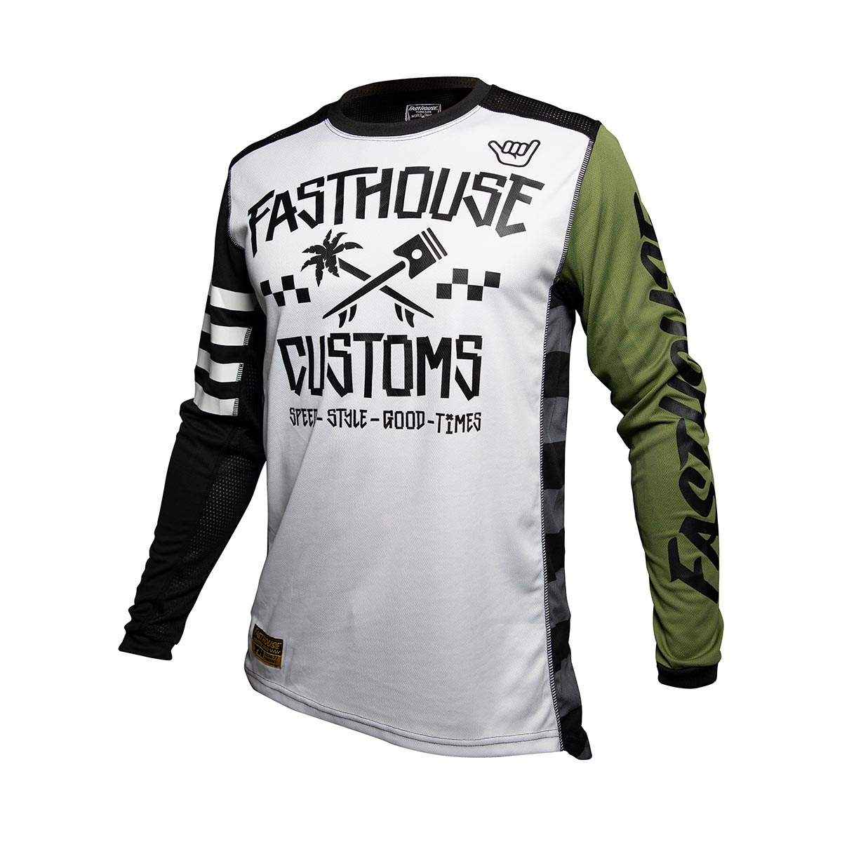 Fasthouse - Hawk Youth Jersey - Olive