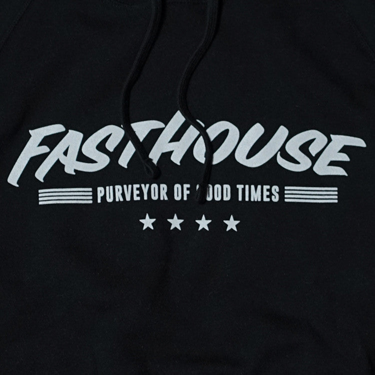 Fasthouse - Four Star Pullover Sweatshirt - Black