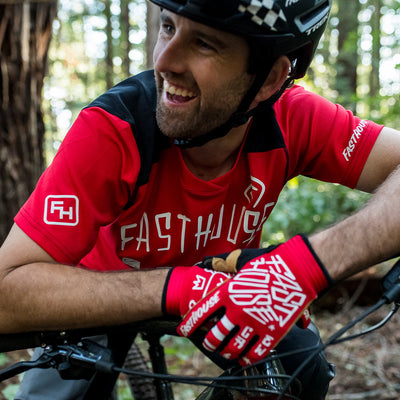 Alloy Nelson SS Youth Jersey - Red
