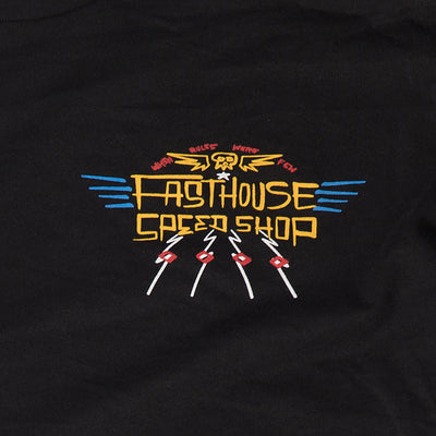 Fasthouse - Calico LS Tee - Black