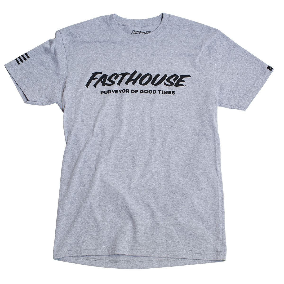 Logo Tee - Heather Grey