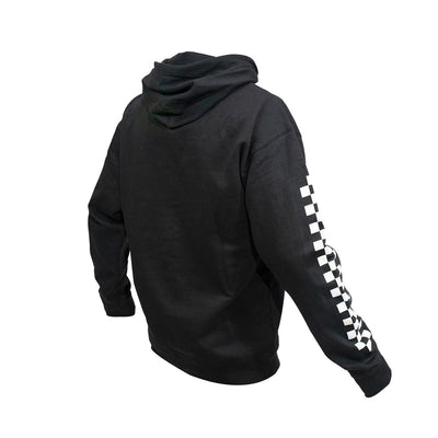Logo Hooded Youth Pullover - Black