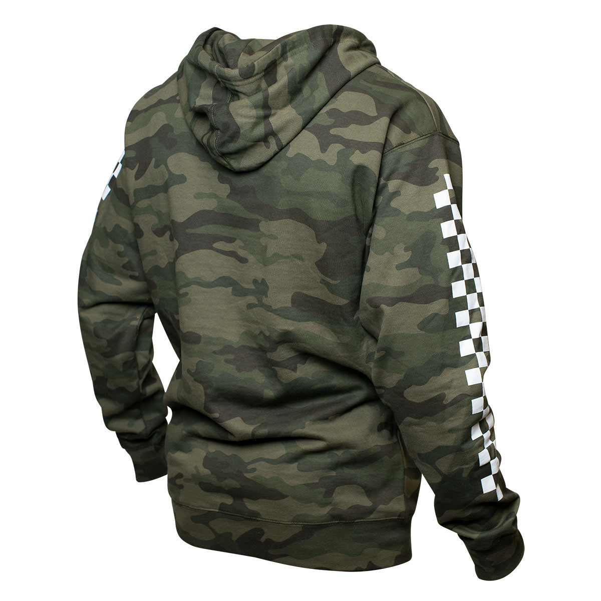 Logo Hooded Pullover - Camo