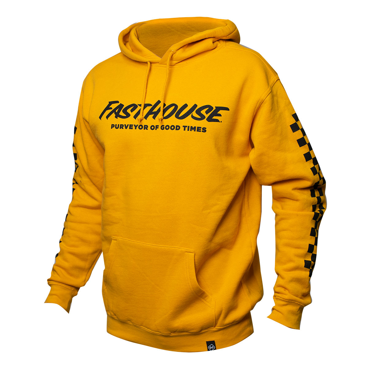 Logo Hooded Pullover - Gold
