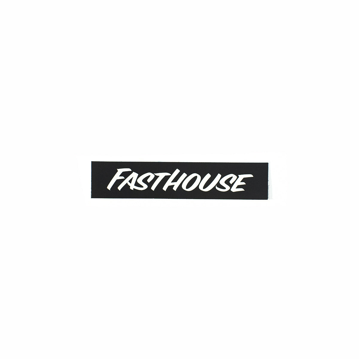 Fasthouse - Black Logo Sticker